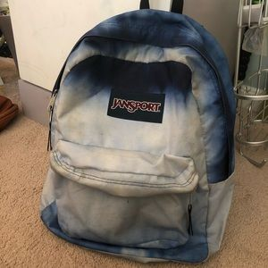 Blue ombre backpack